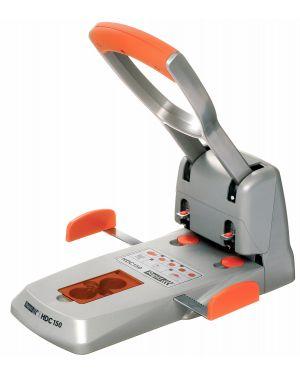 Perforatore 2 fori max 150fg rapid hdc150 grigio - arancio 23000600 7313460006004 23000600_53164