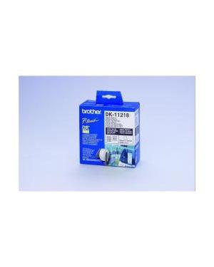1000 etich circolari adesive 24mm Brother DK11218 4977766634557 DK11218