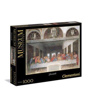 Puzzle Leonardo Cenacolo 1000 pz Clementoni 31447 8005125314478 31447 by No