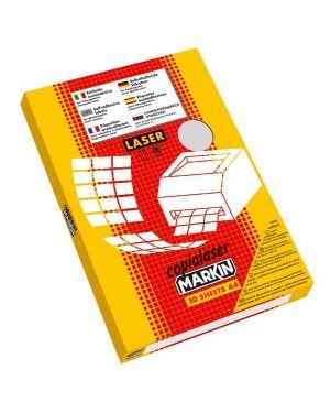 Poliestere adesivo c - 503 trasparente opaco 50fg a4 210x297mm (1et - fg) laser 220LTMC503 50fg 8007047021878 220LTMC503 50fg_53350 by Markin