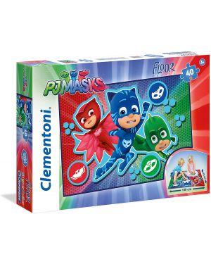Pj masks- floor puzzle 40 pz Clementoni 25452 8005125254521 25452 by No