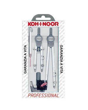 Compasso professional 155mm 5pz kohinoor H9222N 8014923004054 H9222N_53543 by Koh.i.noor
