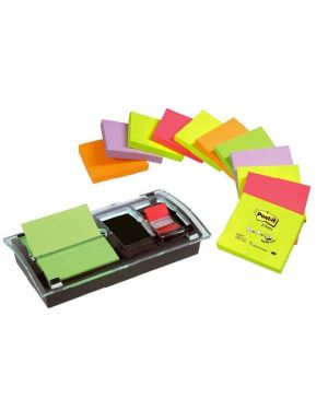 Dispenser post-it z-note ds100vp Post-it 40455 4046719010745 40455_53570 by Post-it