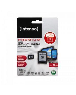 Micro sd con adattatore 64gb uhs Intenso 3423490 4034303019861 3423490
