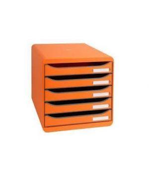 Cassettiera big box plus arancione Exacompta 309788D 9002493421752 309788D