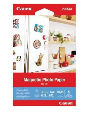 Magnetic photo paper mg-101 4x6 50f Canon 3634C002 4549292137583 3634C002
