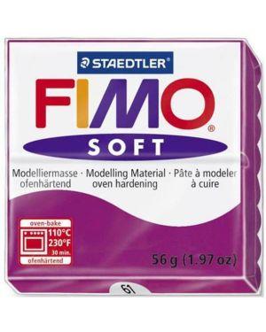Fimo soft 57 g porpora Fimo 8020-61 4006608809737 8020-61 by Fimo