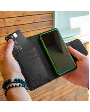 Duomo wallet case up to 5.8 bk Celly DUOMOXLBK 8021735755173 DUOMOXLBK by No