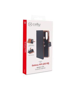 Wally case galaxy a9 (2018) black Celly WALLY796 8021735746225 WALLY796 by No