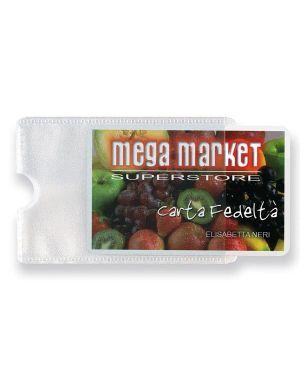 5 buste porta card 1p trasp. 1 tasca 5,8x8,7cm 484201 8004972019369 484201_53987 by Sei Rota