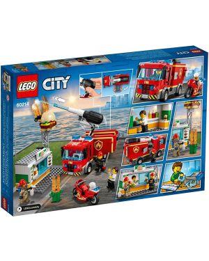Fiamme al burger bar Lego 60214A 5702016369267 60214A