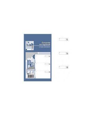Blocco comande a 3 tagliandi 25/25 fogli autoric. 17x9,9 e5917 Confezione da 20 pezzi E5917_55559