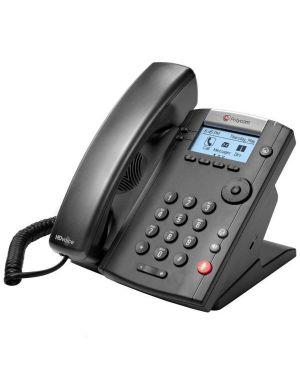 Vvx 201 2-line desktop phone poe Polycom 2200-40450-025 610807829652 2200-40450-025