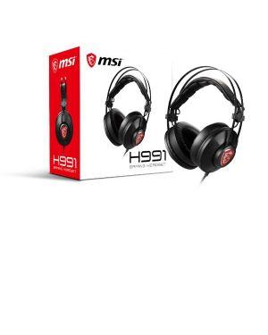 Msi gaming headset box MSI S37-21000A1-V33 4719072649999 S37-21000A1-V33