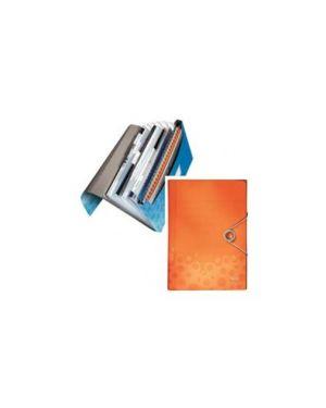 Archivio a soffietto in ppl c/elastico arancio bebop leitz 45790045_56653