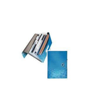 Archivio a soffietto in ppl c/elastico blu bebop leitz 45790037_56654