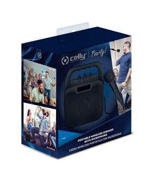 Wireless speaker with m.phone bk Celly PARTYBK 8021735745655 PARTYBK