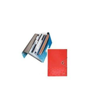 Archivio a soffietto in ppl c/elastico rosso bebop leitz 45790025_56655