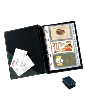 Portabiglietti da visita minivisita mc 25 blu 16x20,5cm seirota 57082507_56677
