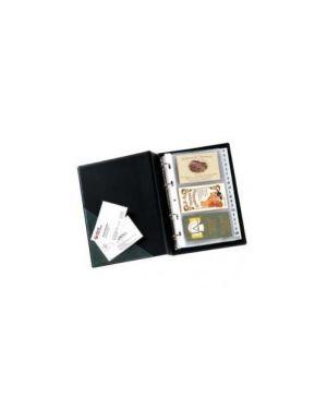 Portabiglietti da visita minivisita mc 25 nero 16x20,5cm seirot 57082510_56678
