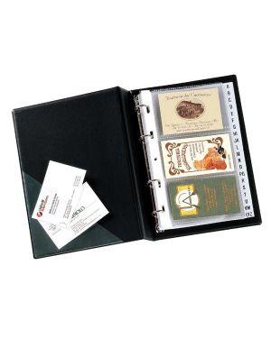 Portabiglietti da visita minivisita mc 25 nero 16x20,5cm seirota 57082510_56678
