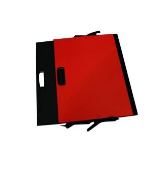 Cartella portadisegni c - maniglia 35x50cm rosso brefiocart 0204403-R 8014819006285 0204403-R_56898