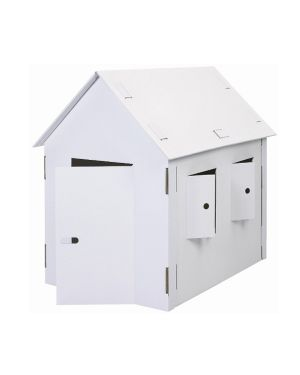 Modello in cartone casa xxl joypac 120x80x110cm JP 000.405 4033657952534 JP 000.405_56911 by Joypac