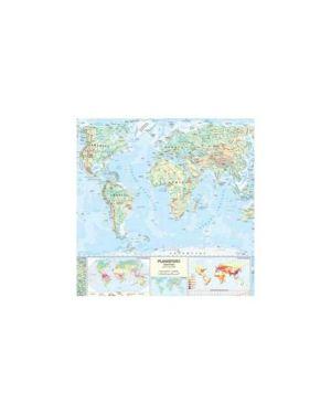 Carta geografica scolastica murale mondo belletti MS02PL_56946