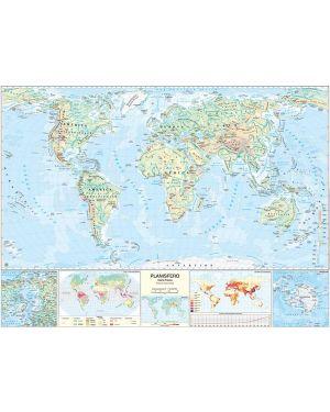 Carta geografica scolastica murale mondo belletti MS02PL 9788881462681 MS02PL_56946