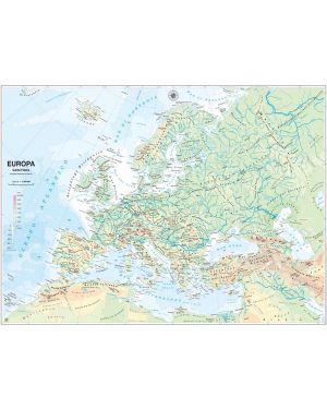 Carta geografica scolastica murale europa belletti MS03PL 9788881462674 MS03PL_56947 by Esselte
