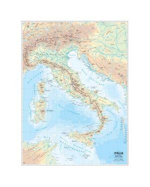 Carta geografica scolastica murale italia belletti MS01PL 9788881462667 MS01PL_56948 by Belletti