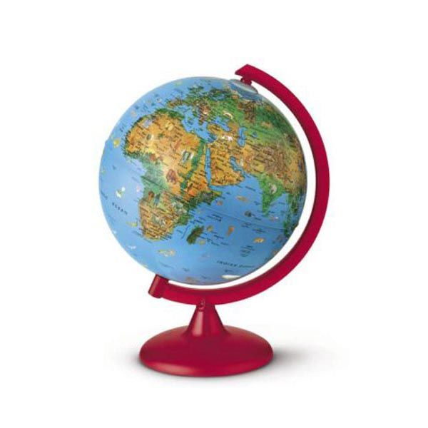 Globo geografico illuminato zoo globe Ø 26cm novarico 0325ZOZOITKRR0D6 8007239013735 0325ZOZOITKRR0D6_56953 by Esselte