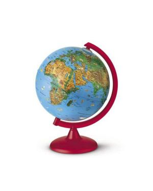 Globo geografico illuminato zoo globe Ø 26cm novarico 0325ZOZOITKRR0D6 8007239013735 0325ZOZOITKRR0D6_56953