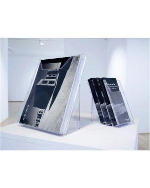 Combiboxx 1 - 3 a4. porta dépliant Durable 8599-19 4005546803456 8599-19