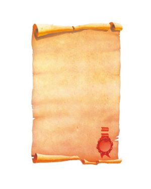 """Carta con stampa """"pergamena"""" a4 80gr 25fg decadry T036634 5413493151886 T036634_57198"""