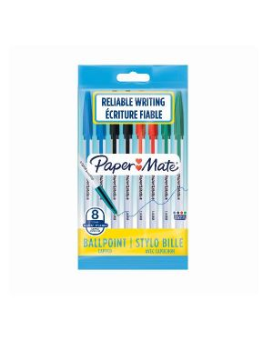 Pm045 pennasfera 1.0 mm - ass Papermate 2084416 3026980844165 2084416 by Papermate