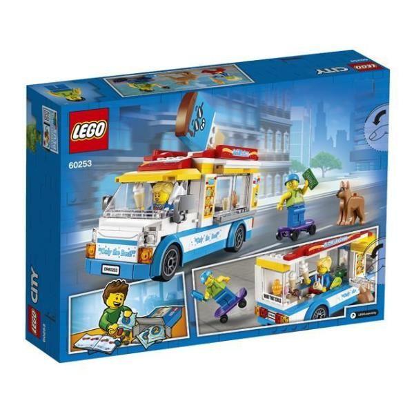 Furgone dei gelati Lego City 60253 5702016617870 60253 by Lego