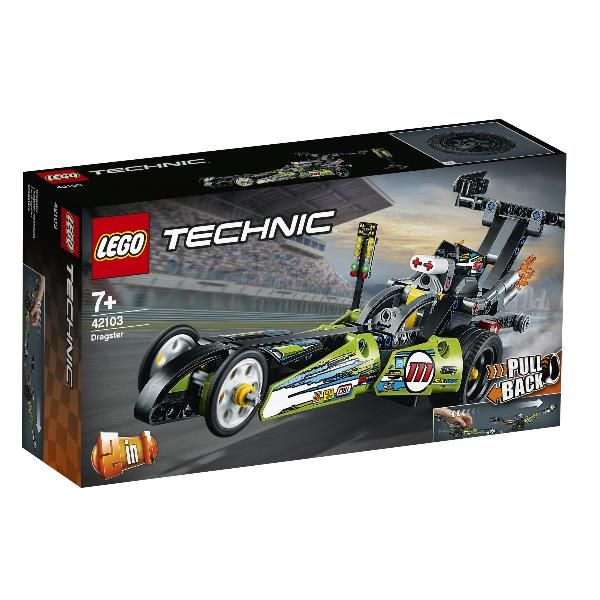 Dragster Lego Cod. 42103 5702016616422 42103 by Lego