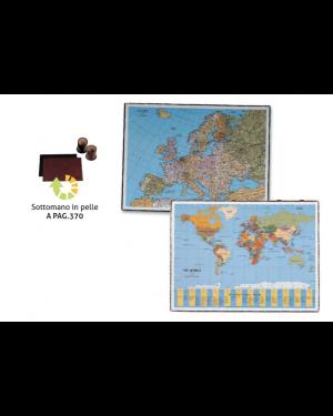 Sottomano geographic planisfero 40x53cm 45350 laufer 45350_58009