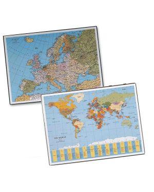 Sottomano geographic planisfero 40x53cm 45350 laufer 45350 4006677453503 45350_58009