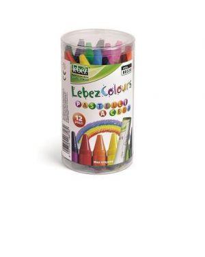 Conf12 pastelli jumbo a cera col.as Lebez 80338 8007509068182 80338