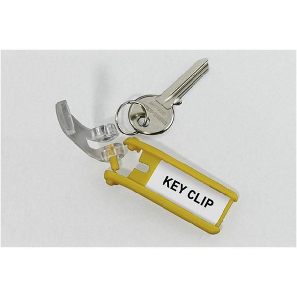 Scatola 6 portachiavi key clip blu durable 1957-07 4005546103839 1957-07_58027 by Esselte