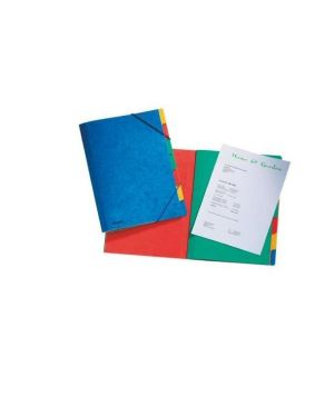 Rainbow cartella cartoncino 5diviso Esselte 55550 5411313555500 55550