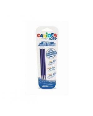 Refill 3 pz blu  oops Carioca 43041/02 8003511450410 43041/02 by No