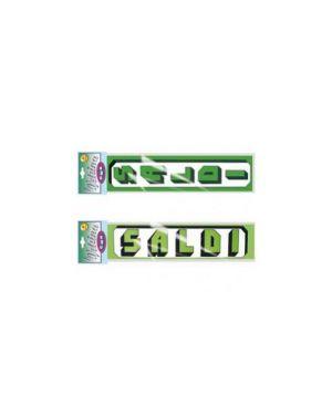 Busta 4 striscioni maxi 'saldi' 23x100cm vert. Cwr 06114_58483