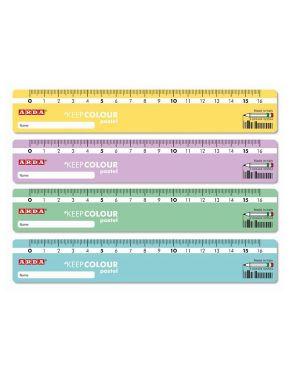 Conf  48 righelli in barattolo 16cm Arda KCP17DESP 8003438022547 KCP17DESP by Arda