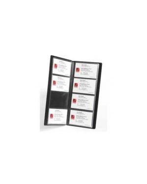 Portabiglietti da visita rexel professional 254x112mm nero 2101131_58903