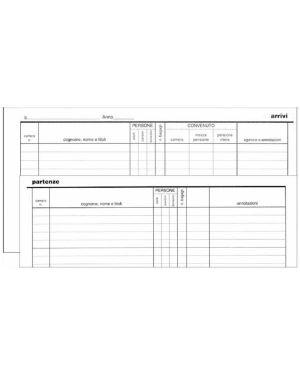 registro arrivi - partenze EdiPro E2839  E2839_59660
