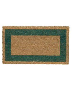 Zerbino cocco c/fondo in vinile 45x80cm verde velcoc 101533-VE_60958