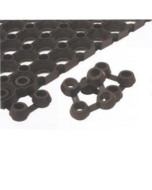 Conf.25 connettori per tappeto in gomma best velcoc ZZGICO 8000771600036 ZZGICO_60961